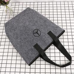 Sacchetto multifunzionale del regalo del feltro di abitudine del calcolatore del feltro dei fornitori di immagazzinamento in la borsa del panno del feltro del Non-Woven della matita di caso