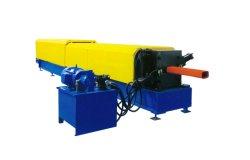 ماكينة صنع الأنابيب المستديرة السلسة لأنبوب المياه المزود بقمع الماكينة
