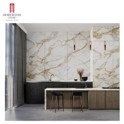 Calacatta Gold Sintered Stone Wand Marmor Slab Sintered Stone Slab Werk