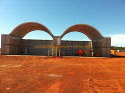 De industriële Schuilplaats van de Container van de Luifel van de Tent van het Dak van de Koepel Hoogste Openlucht