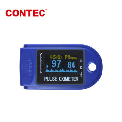 FDA Controle van het Voorschrift van de Hulp van de Nauwkeurigheid van de Software Cms50da van de Monitor van de Zuurstof PR van het Bloed USB van Oximeter van de Impuls van de Vingertop de Digitale Hoge