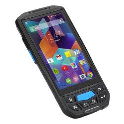 5 GPS Bt4.0 van WiFi van het Scherm van de Aanraking van de duim de Handbediende Mobiele Ruwe 4G Androïde 2D Scanner PDA van de Streepjescode