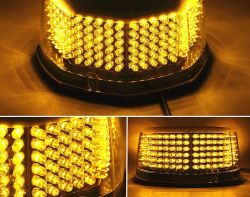 강한 자석 번쩍이는 LED 비상등 고성능 24W LED 스트로브 경고등