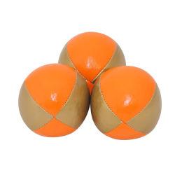 5cm 6.3cm Zoll-Marken-Drucken weiche PU-Belüftung-mehrfachverwendbare jonglierende Kugel mit privatem Paket
