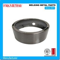 Fabricación de la fábrica Lectroplated profunda Draw Base de Acero Inoxidable las piezas de metal de soldadura