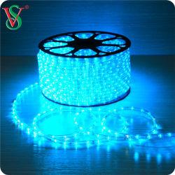 La decoración exterior LED verde de las luces de alambre cuerda