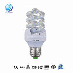 De populaire Promotie Slimme Spaarder van de Energie van de Lamp van de Gloeilamp Fluorescente Halve Spiraalvormige