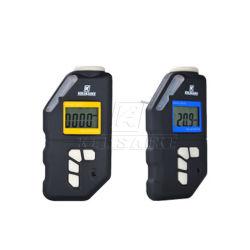 Einzelne Gas Detektor Kebocoran Untuk 0-100ppm H2s Dengan LCD Bildschirmanzeige