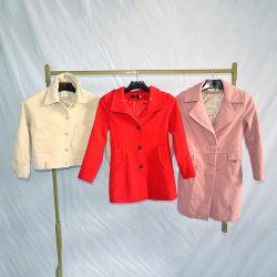 ベールの使用された混合されたウールのコートの冬の衣服
