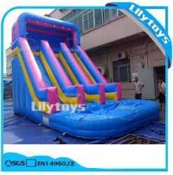 販売のための普及した子供PVC膨脹可能なスライド、Lilytoysの膨脹可能な製品の製造業者