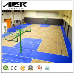 Mousse PVC Indoor Sports Basket-ball, badminton en plastique en rouleau de plancher