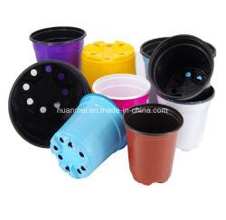 Panelas redondas, vasos, Plantadeiras, Berçário potes plásticos potes de Jardim