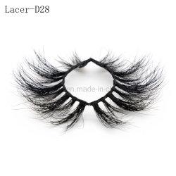 卸売価格の熱い販売100%の人間の毛髪の毛皮のつけまつげのミンクのまつげの円形のまつげの包装のまつげの拡張