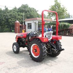 Commerce de gros 55HP tracteur agricole 4RM/Mini/diesel/petit jardin/Compact/tracteur agricole de pelouse