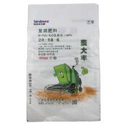 PP tissés de 50kg Plain emballage en plastique en polypropylène PVC 50 kg sac de riz