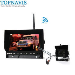 Busのための7 Inch Monitorの2.4GHz DIGITAL Wireless Night Vision Rear View/Rear Vision/Backup/Reversing Camera System/TrailerまたはヴァンまたはTruck