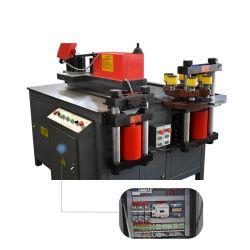Novo rápido barramento CNC de corte de cisalhamento Máquina de perfuração para o cobre