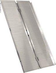 Mallette en aluminium de l'utilitaire de repliage de rampe de chargement 272kgs / 600lbs