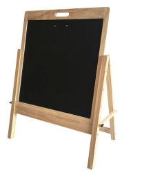 Uso dei capretti e scheda educativa di Balck del blocco per grafici di legno di uso