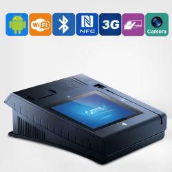 10 pouces Jepower T508A (Q) Touch POS Terminal lecteur d'empreintes digitales