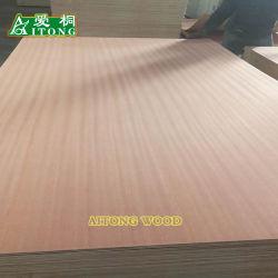 Из естественной древесины золы/дуба и красного бука шпона фанеры в коммерческих целях для мебели