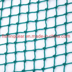 El color verde doble cuerda trenzada de redes de pesca para la pesca aborda