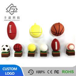 USB 2.0 диск футбола USB Stick мультфильм баскетбол флэш-накопитель