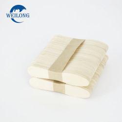 Bois de bouleau jetables et de bambou cuillère de crème glacée