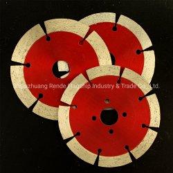 diameter 8 van 115 mm Blad van de Zaag van de Diamant van het Type van Segment van Tanden het Droge Scherpe voor Alle Stenen