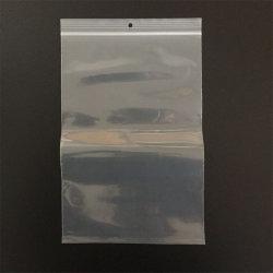 Nahrungsmittelgrad-Kristall - freier Plastik-LDPE-Reißverschluss-Verschluss-Plastikverpackungs-Beutel