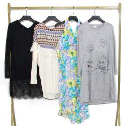 De gebruikte Gebruikte Kleding van de Zomer van de Tweede Hand kleedt Dame Cotton Skirt