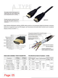 Cable USB VGA DVI HDMI Patch Lan Cable Cable Dp Tipo C