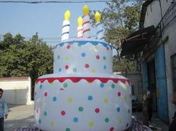 Надувные День Рождения торт гигантские надувные торт украшения для поощрения