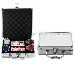 Custodia Per Chip Da Poker Con Maniglia In Alluminio Di Alta Qualità Oem