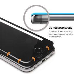 vidro temperado curvo 3D o protetor de tela para iPhone 6, 7 Plus