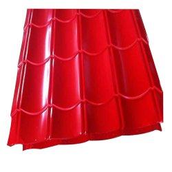 Hoja de techado Pre-Painted galvanizado recubierto de color del techo de chapa de acero corrugado de Hoja de Metal