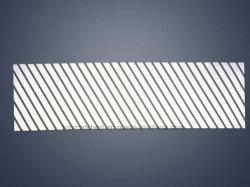 Segmenteerden de Diagonale Strepen van de Overdracht van de Hitte van de strook Weerspiegelende Band