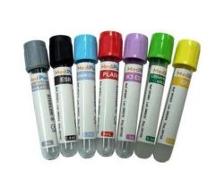 Le pet/verre vide médical à bas prix les flacons de collecte de sang avec la CE/ISO/Certificat de la FDA