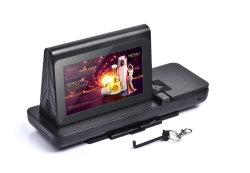 Peça Fyd-838s novo carregador móvel sem fio Restaurante Estação de Carregamento de publicidade digital de mesa Powerbank menu Menu de Suporte de banco de Potência