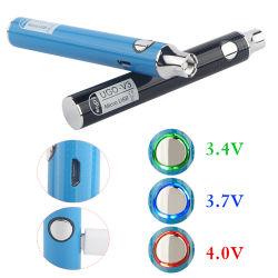 CBD Vape 펜 배터리 650 900mAh 예열 VV 510 나사산 Eego 충전식 Esigs 배터리