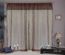 オーガンジーの刺繍のカーテン(JYB83)