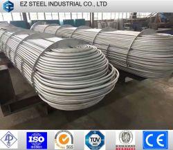 ASTM A213 DIN17175 EN10216 liga de carbono e Tubo de Aço Inoxidável para equipamentos de troca de calor e Gasoduto Industrial (nº. O EZ-B1)