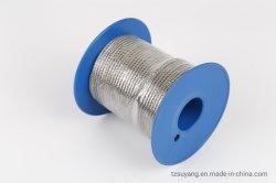 سلك من الفولاذ المقاوم للصدأ بطول 4.0 مم 7 × 7، وكابلات