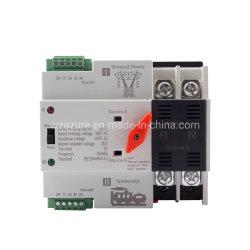 Selezione automatica del manuale dell'interruttore 50/60Hz di trasferimento di potere doppio del ATS della guida 4p 32A 63A 100A di BACCANO