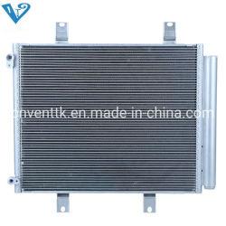 Condensador de flujo paralelo de la bobina del condensador Microchannel