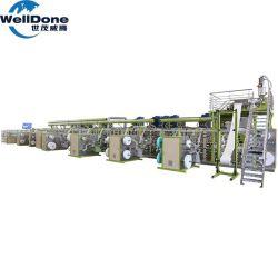 La Chine usine de fabrication de machines de couches pour bébés en Afrique du Sud de la machine