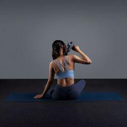 Verbeterde 3 instelbare snelheden Handheld Vibration Deep Tissue Muscle Massage Apparaat met 4 massagekoppen en draagbare handtas
