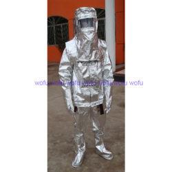 Het Beschermende Kostuum van de brand tegen Hitte