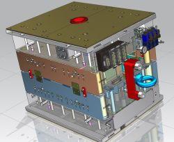 Muffa di plastica del blocco per grafici automatico della fibra di vetro di PA dell'iniezione