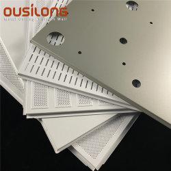 Materiais de Construção metálica perfurada Alumínio Acústico / painel de tecto Parede Pendular de alumínio